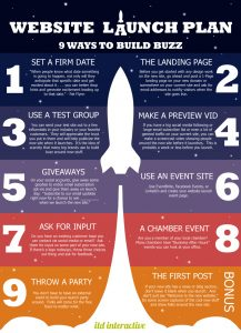 Launch Planning – Boost the Buzz Around Your New Site